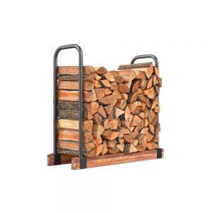 bois de chauffage bien entreposé
