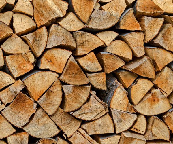 Rondins de bois de chauffage